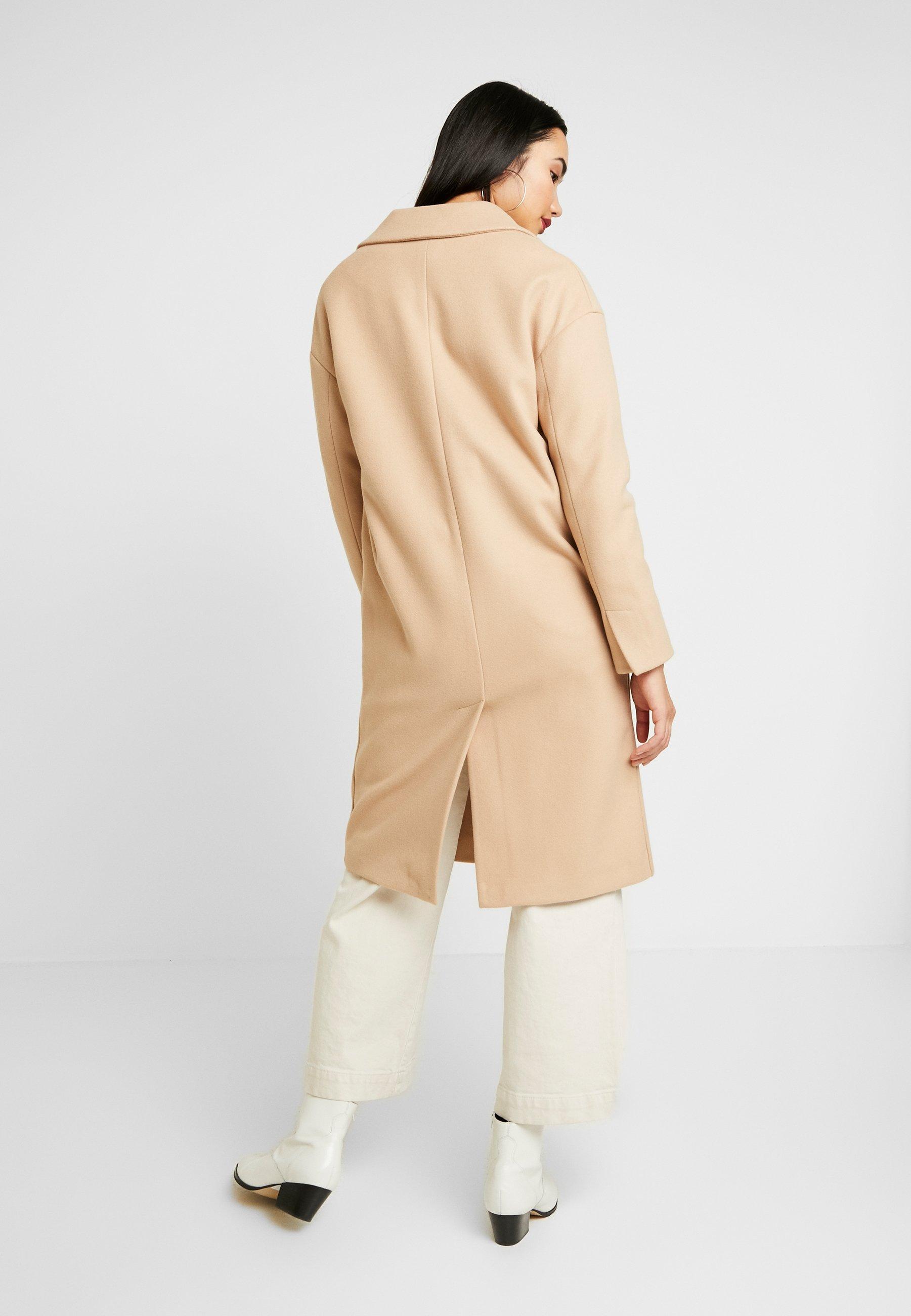Topshop CISSIE - Wollmantel/klassischer Mantel camel