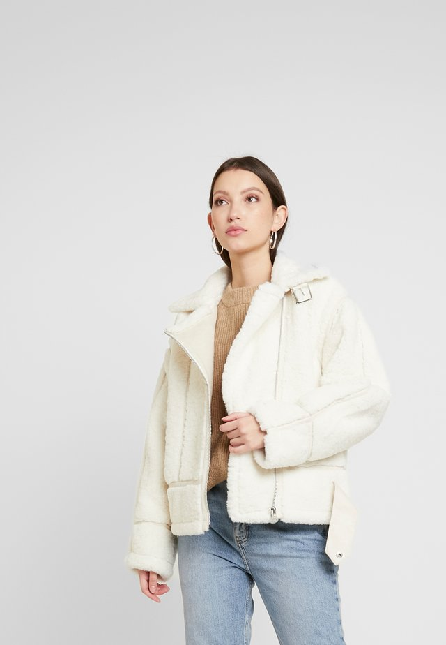 MAY BIKER - Chaqueta de invierno - cream