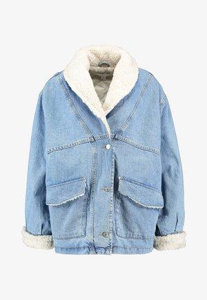 BORG CAR - Winter jacket - blue denim