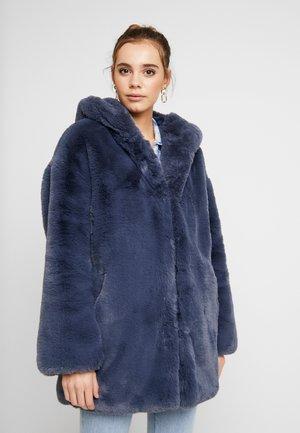 KNIGHT HOODED - Zimní kabát - pacific blue