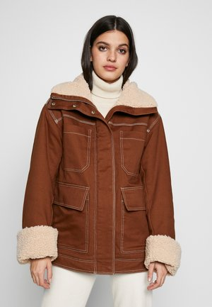 SOLANGE - Winter jacket - brown