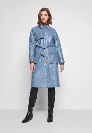 CHARLIE - Trenchcoat - blue
