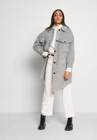 Topshop - Winter coat - grey marl - 1