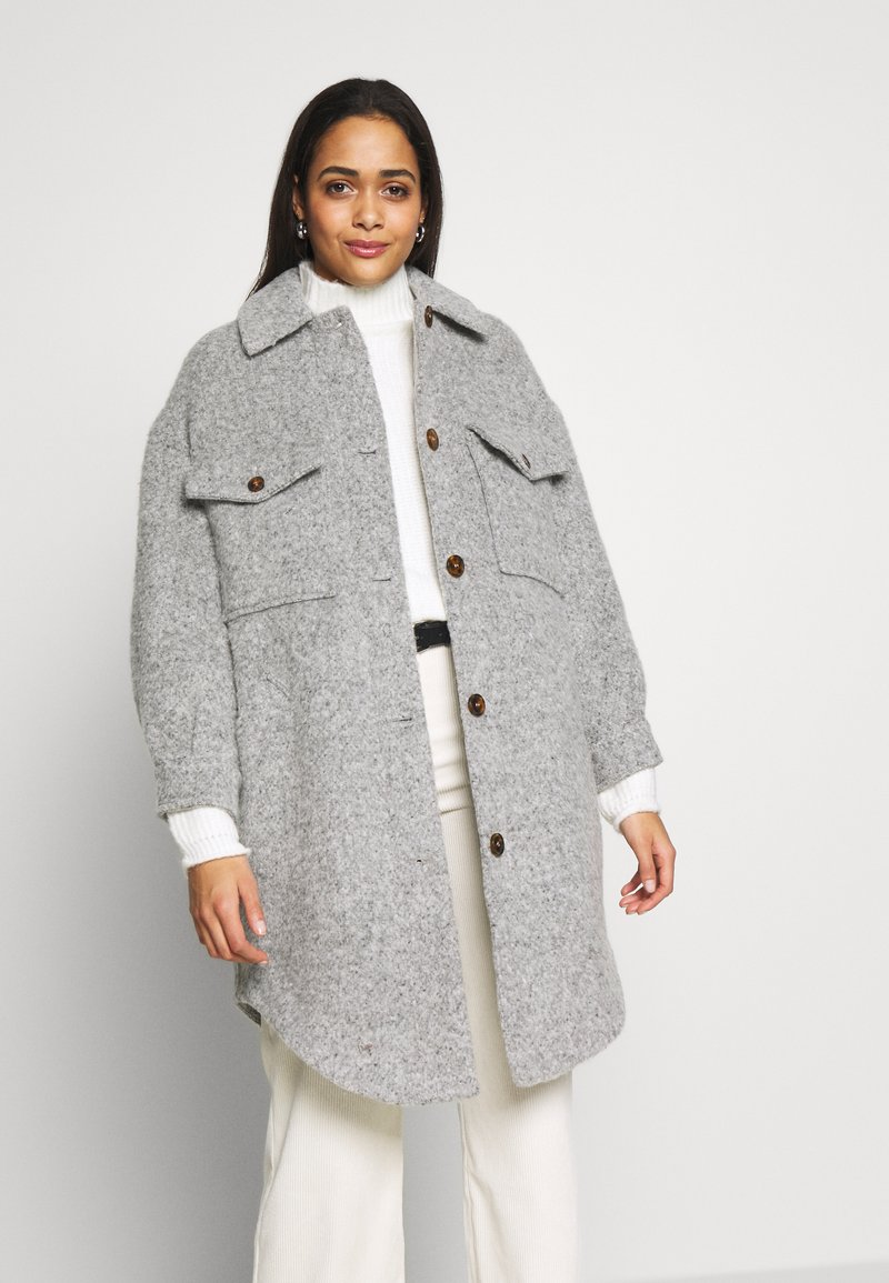 Topshop - Winter coat - grey marl