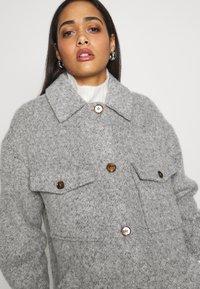 Topshop - Winter coat - grey marl - 3