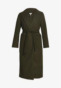Topshop - BUNTY BELTED  - Classic coat - khaki - 4