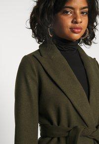 Topshop - BUNTY BELTED  - Classic coat - khaki - 3