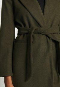 Topshop - BUNTY BELTED  - Classic coat - khaki - 5