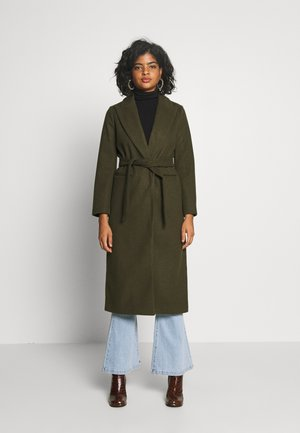 BUNTY BELTED  - Classic coat - khaki