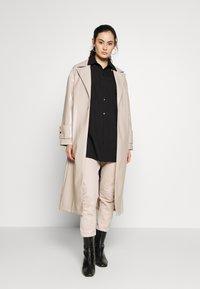 Topshop - MILLA - Classic coat - putty - 1