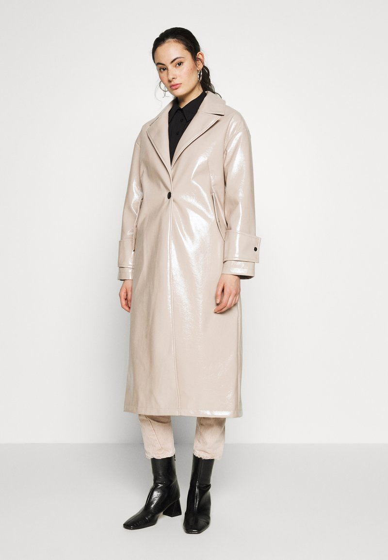 Topshop - MILLA - Classic coat - putty