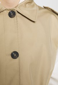Topshop - SLEEVELESS CROP TRENCH - Smanicato - sand - 4