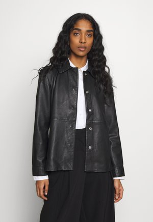 JACKET - Skinnjacka - black