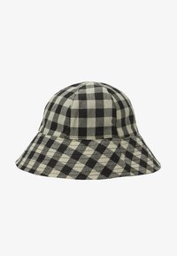 Topshop - GINGHAM BUCKET - Hoed - monochrome - 1
