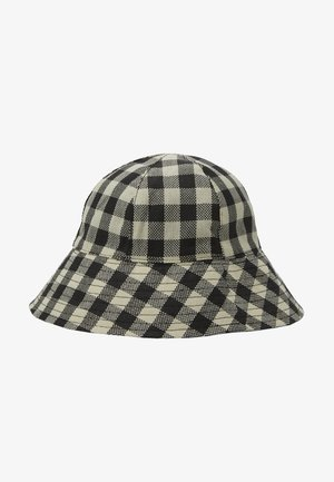 GINGHAM BUCKET - Hattu - monochrome