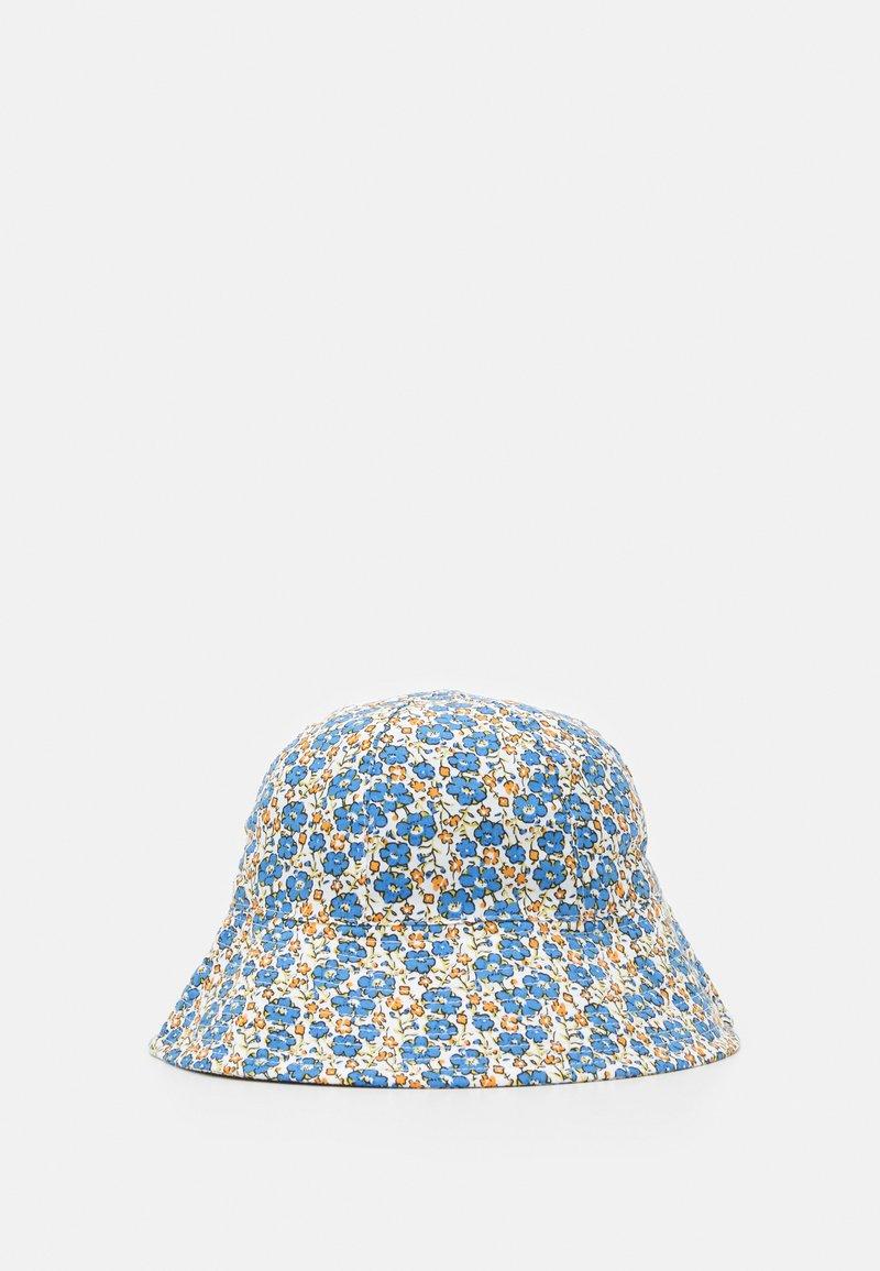 Topshop - FLORAL BUCKET HAT - Sombrero - blue