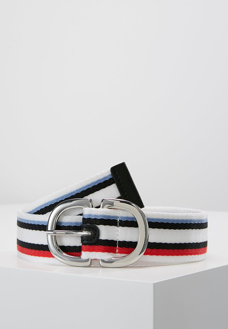 Topshop - NEW RULES SPORT BELT - Cinturón - white