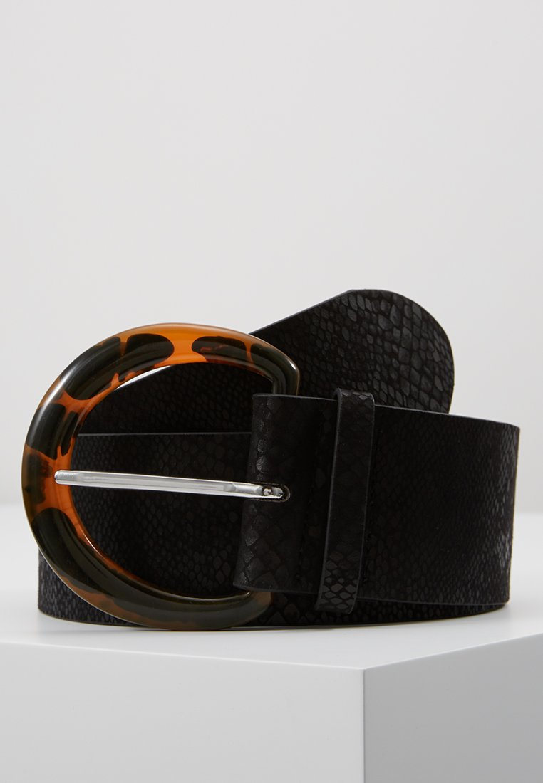 Topshop - WIDE BELT - Cinturón - black