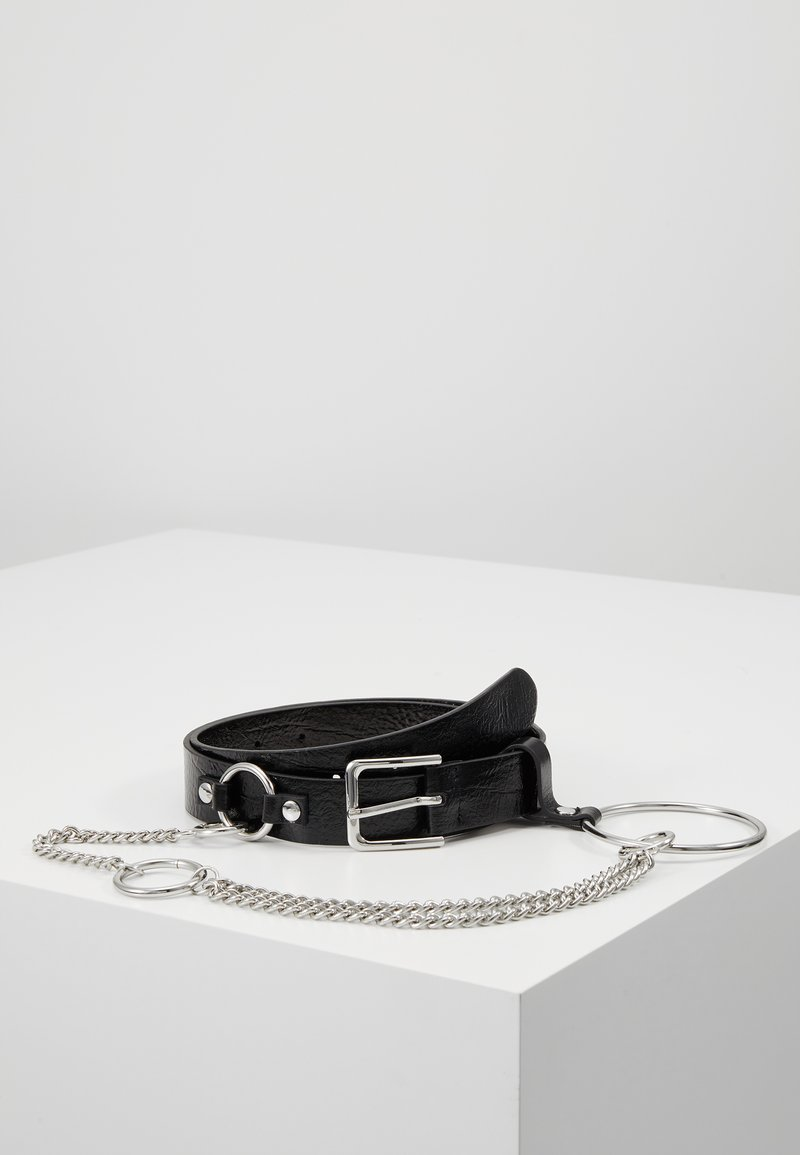Topshop - CHAIN BELT - Bælter - black