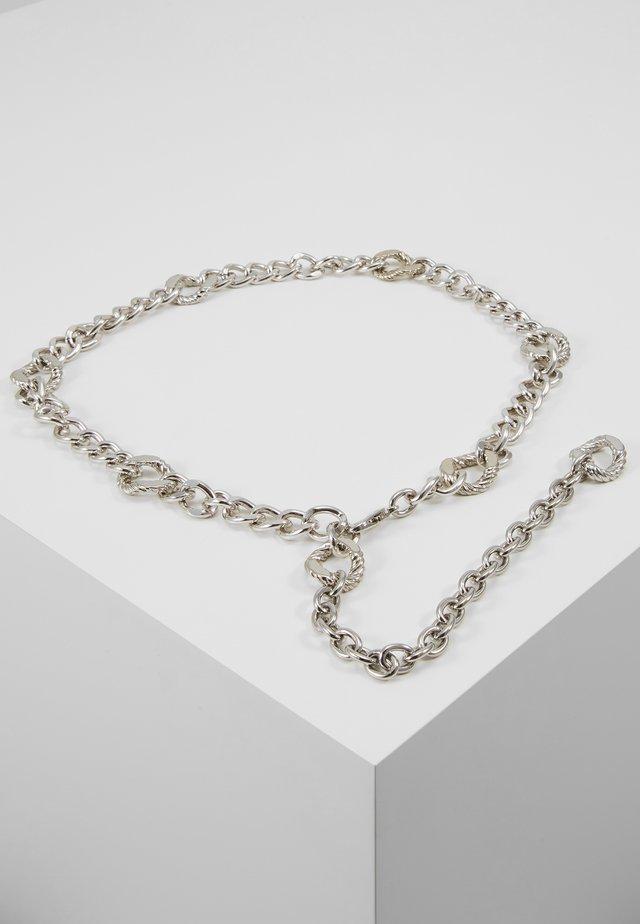 FIGARO CHAIN BELT - Bælter - silver-coloured