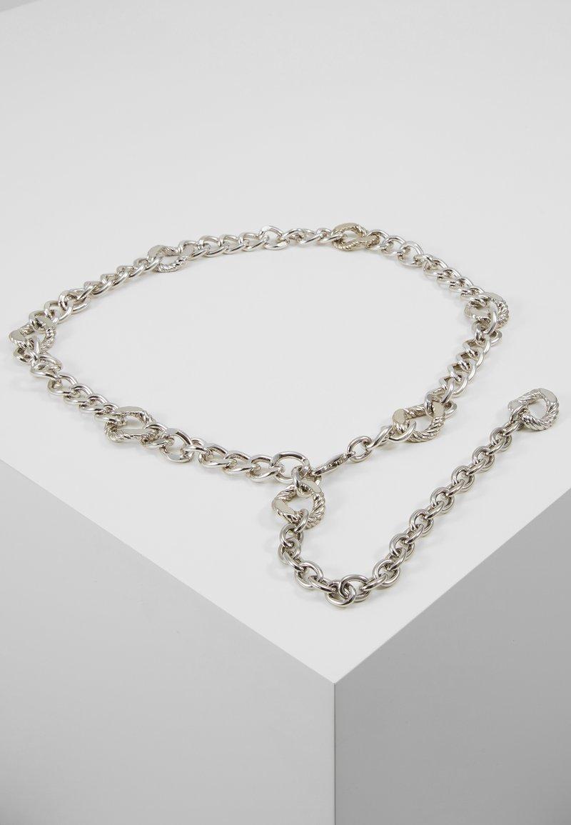 Topshop - FIGARO CHAIN BELT - Riem - silver-coloured
