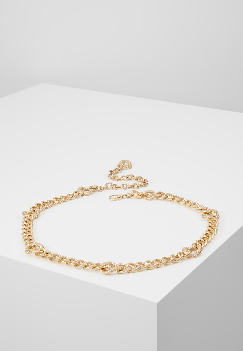 Topshop - FIGARO CHAIN BELT - Riem - gold-coloured