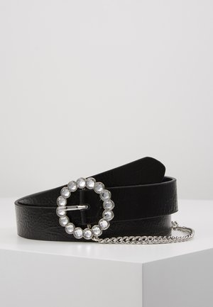 CIRCLE CHAIN - Ceinture - black