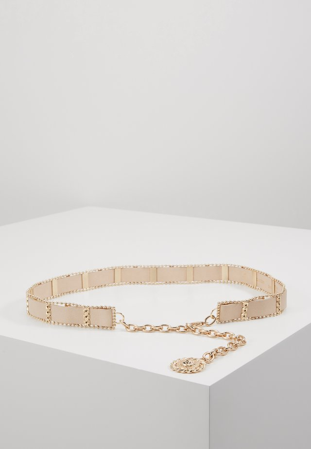 WEAVE CHAIN LION COIN - Riem - nude