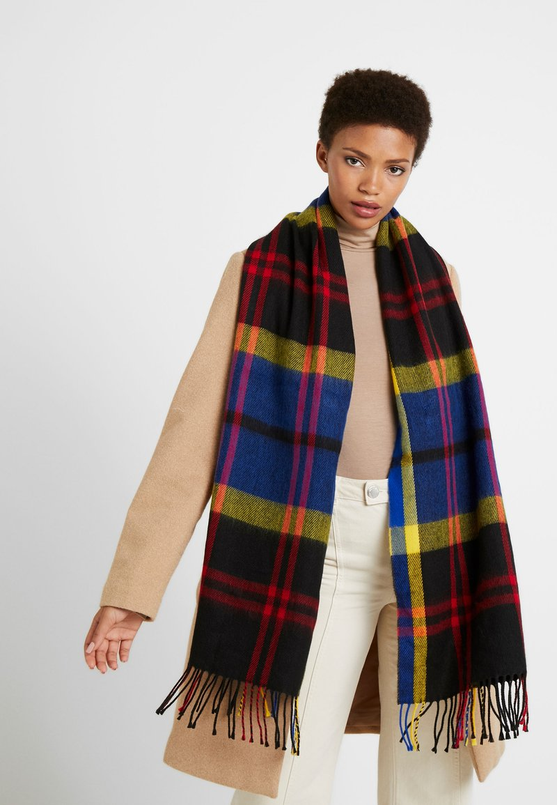 Topshop - BRIGHT CHECK - Scarf - multi