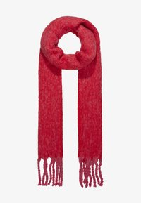 Topshop - TONE HEAVY SCARF - Scarf - red - 1