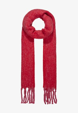 TONE HEAVY SCARF - Scarf - red