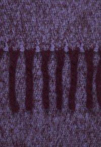 Topshop - TONE HEAVY SCARF - Scarf - purple - 2