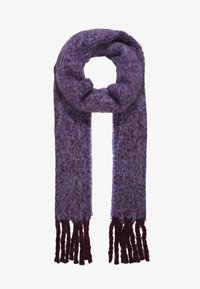 Topshop - TONE HEAVY SCARF - Scarf - purple - 1