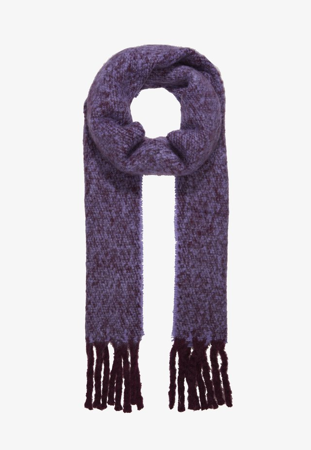 TONE HEAVY SCARF - Sciarpa - purple