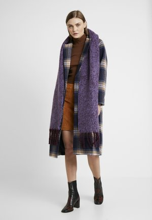TONE HEAVY SCARF - Sjaal - purple