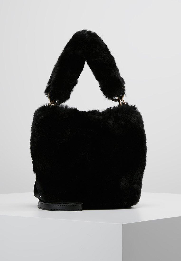 Topshop - BUCKET - Handväska - black
