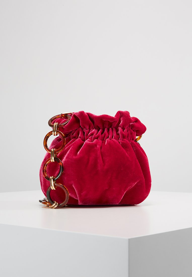 Topshop - VIV LINK POUCH - Bolso de mano - pink