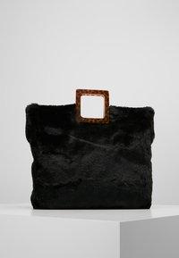 Topshop - FREDI TOTE - Shopping Bag - black - 2