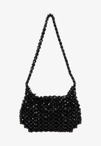 Topshop - BEY CHUNKY BEAD - Handtasche - black - 5