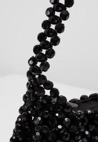 Topshop - BEY CHUNKY BEAD - Handtasche - black - 6