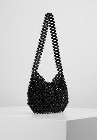 Topshop - BEY CHUNKY BEAD - Handtasche - black - 3