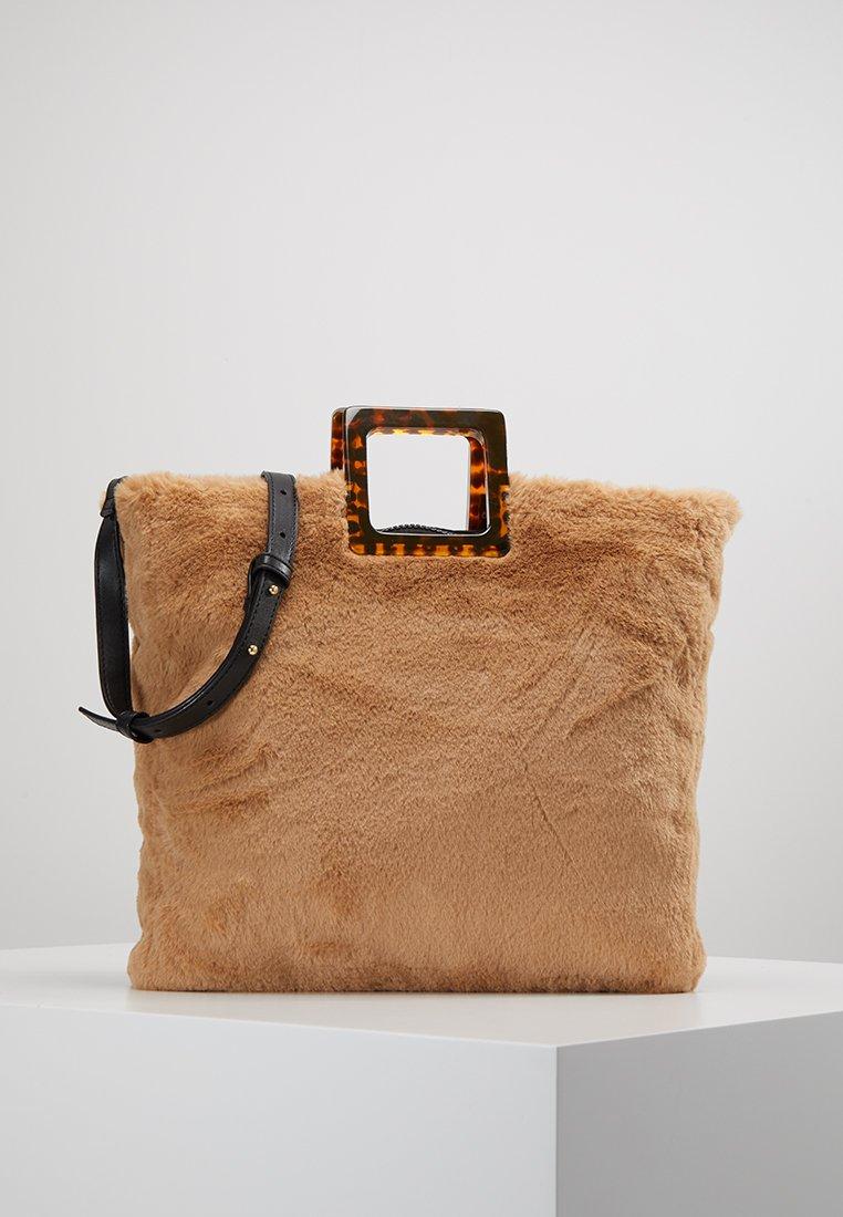 Topshop - FREDDY SQUARE - Handbag - brown