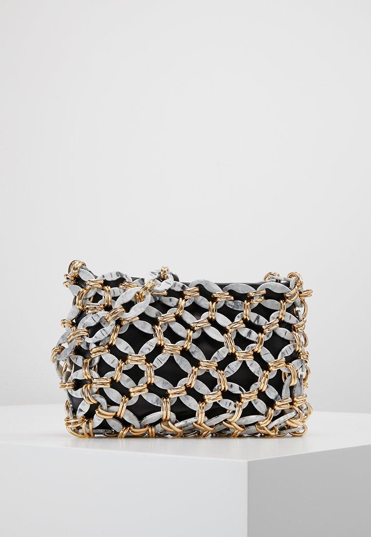 Topshop - SABINA LINK SHOULDER - Handbag - grey