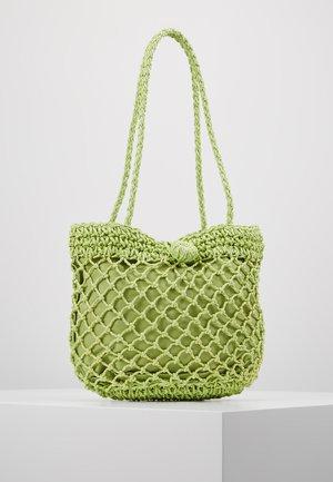 FIZZLE TOTE - Handtas - green