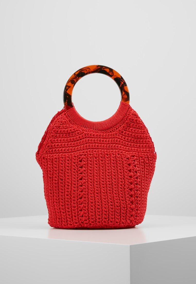 Topshop - SEA STRING TOTE - Handbag - red