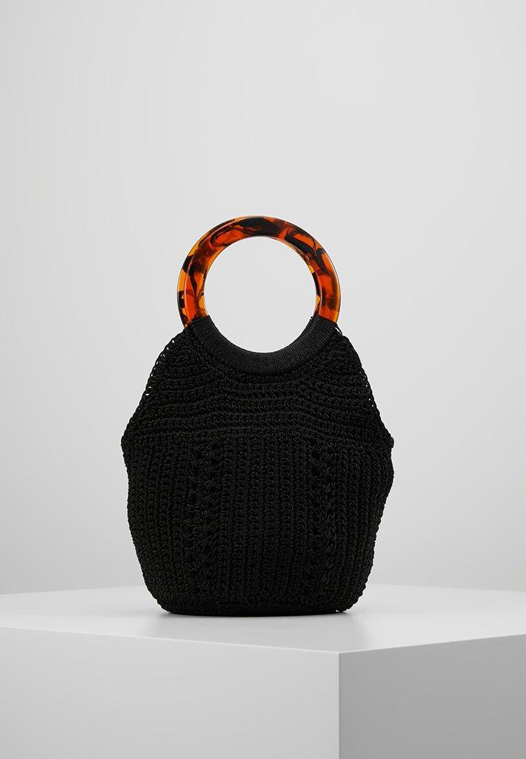 Topshop - SEA STRING TOTE - Handtasche - black
