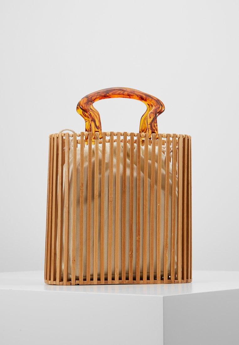 Topshop - FLINT TOTE - Shopping bag - brown