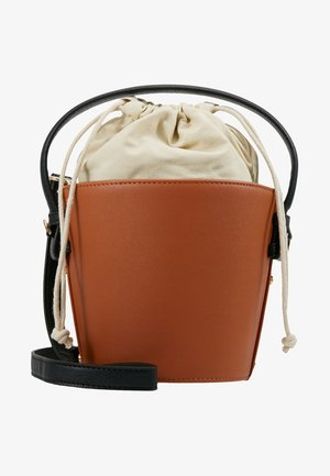 GLORY MOON CROC GRAB - Handbag - tan