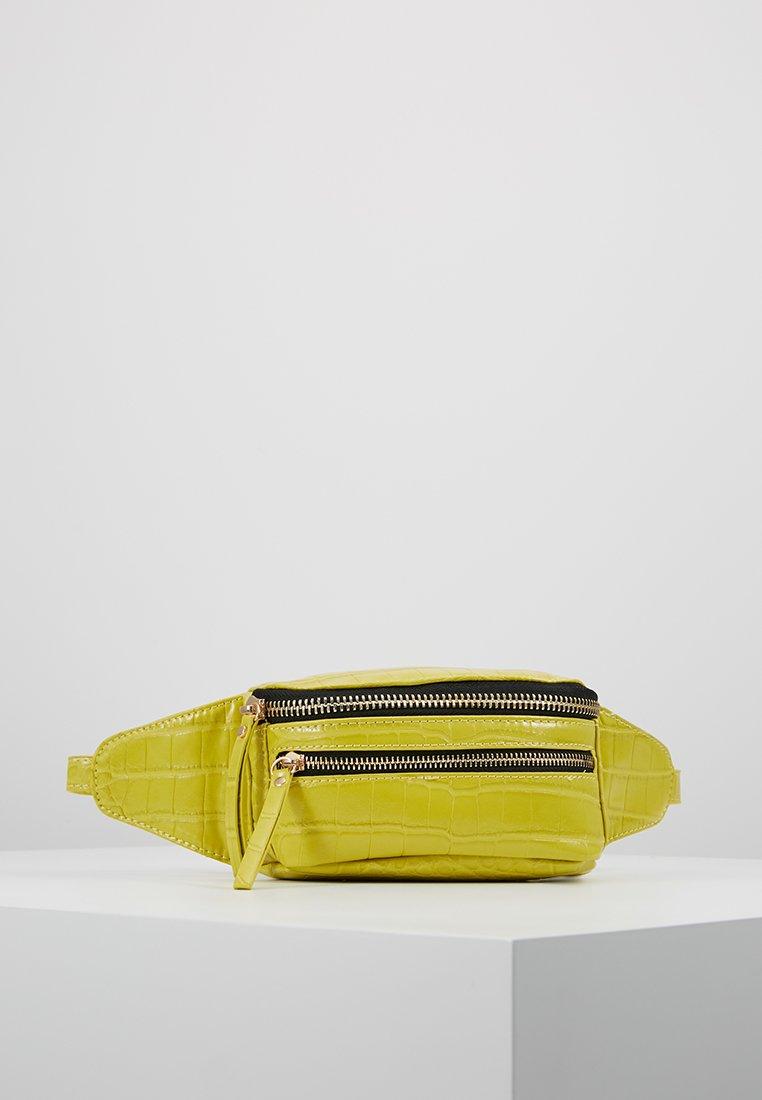 Topshop - BLISS BUMBAG - Bum bag - chartreuse