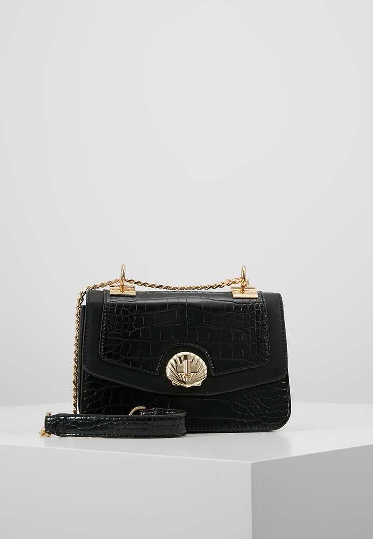 Topshop - SHELLY CROSSBODY - Torba na ramię - black